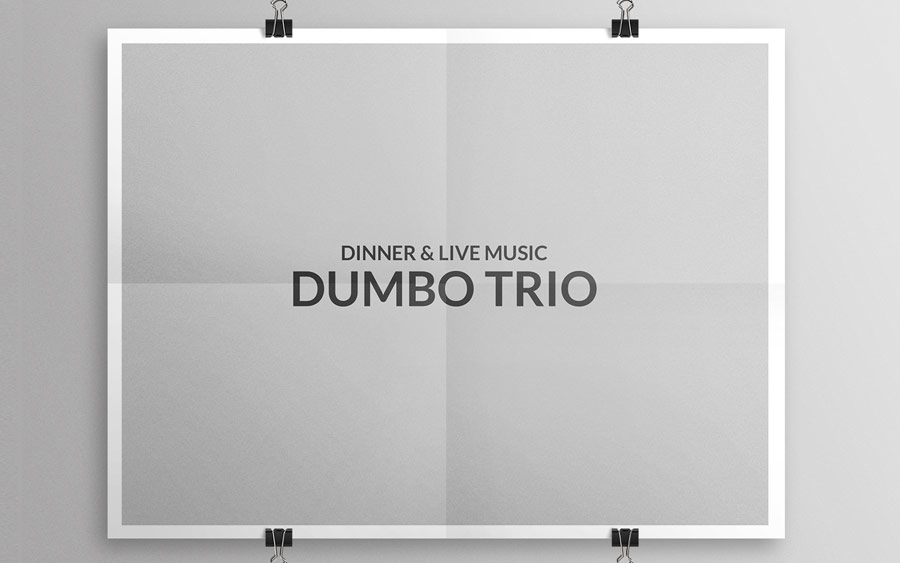 DINNER & LIVE MUSIC  DUMBO TRIO